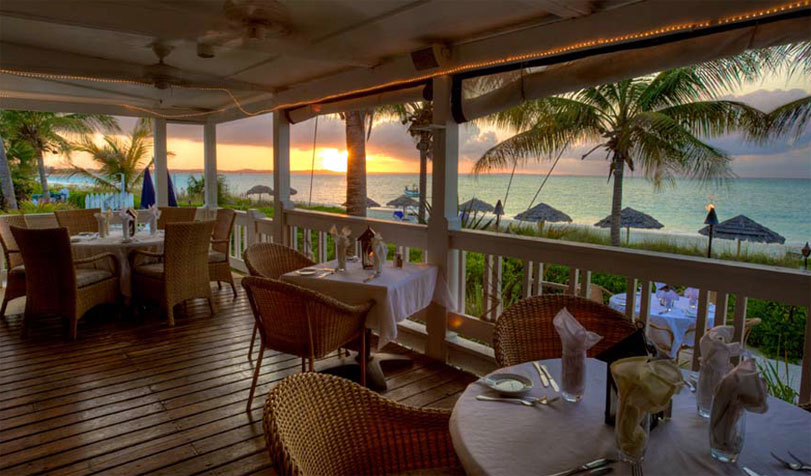 Bay Bistro Restaurant on Grace Bay Providenciales Turks and Caicos