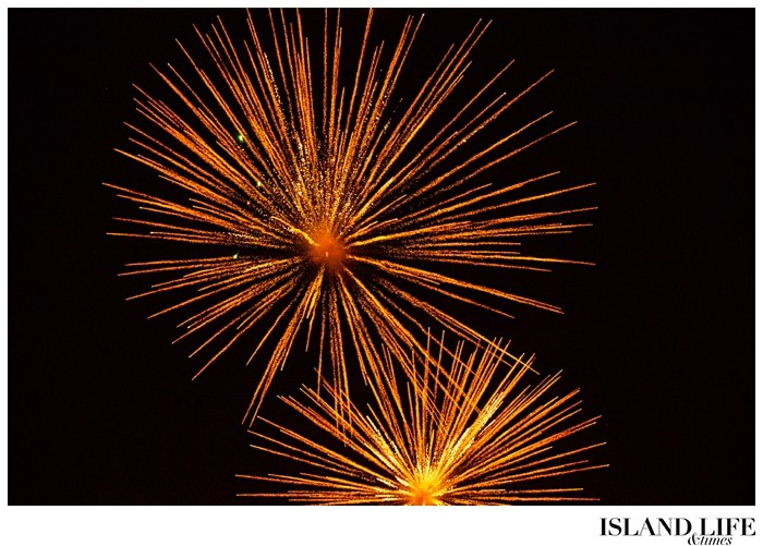 fireworks in turks and caicos