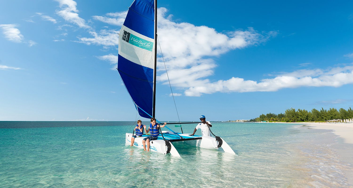 West Bay Club Turks and Caicos - Complimentary Non Motorized Water Sports