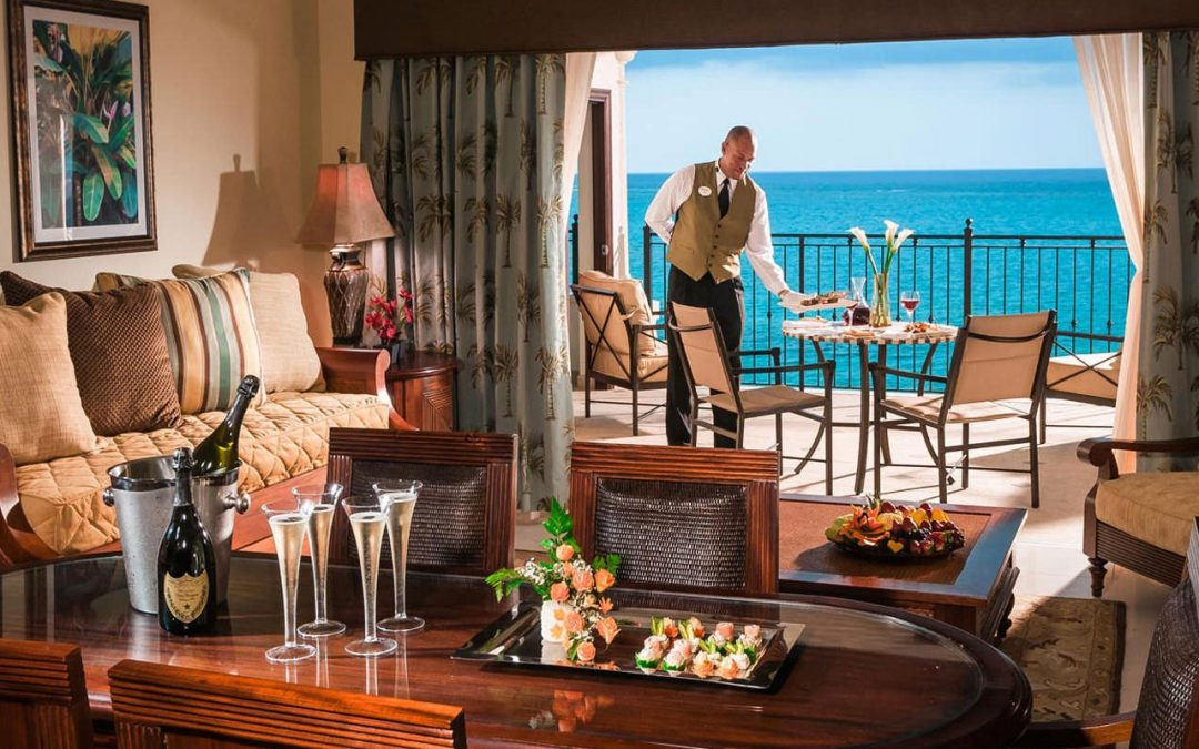 Butler Service at Beaches All Inclusive Turks and Caicos Resort