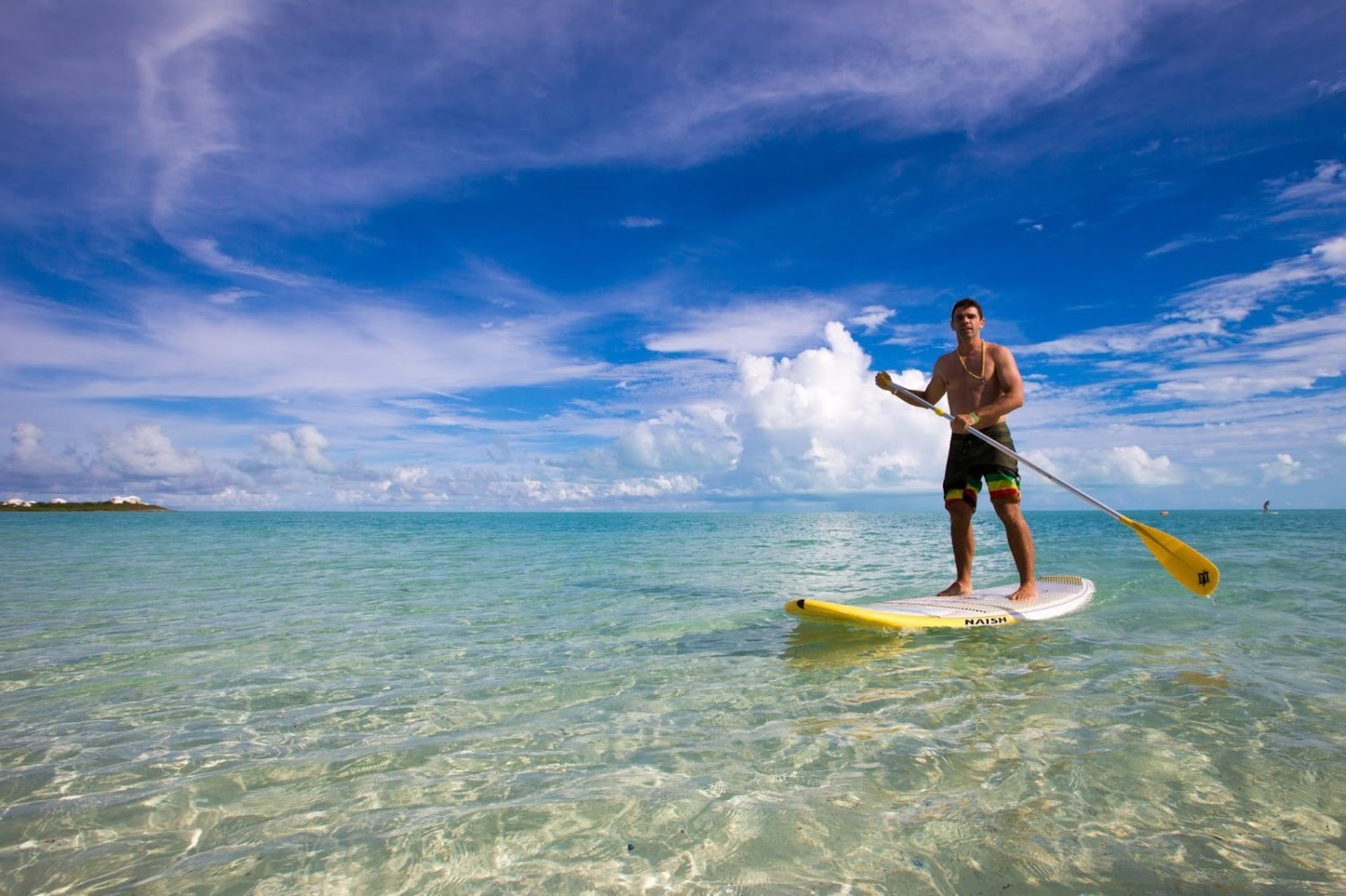 SUP Paddling in Turks and Caicos