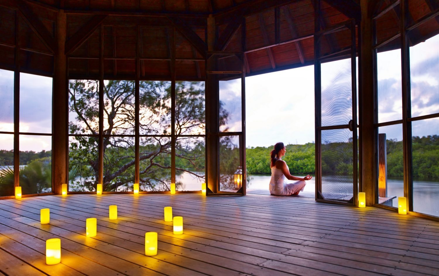 parrot cay resort yoga