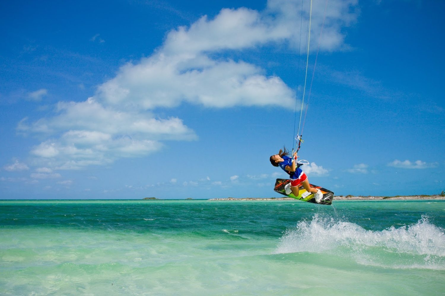 Kite boarding Turks and Caicos